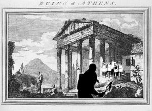 athens ruins riot